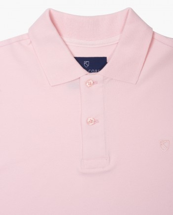 Classic Fit Pale Pink Polo T-Shirt