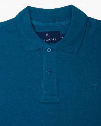 Classic Fit Turkish Teal Polo T-Shirt